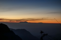Sunrise........ from Bukit Kingkong